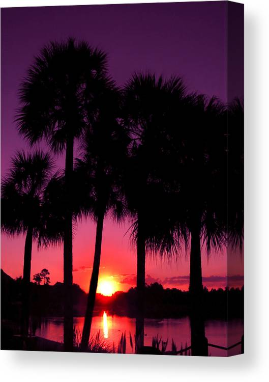 Sunrise Canvas Print featuring the photograph Dawn Of Another Perfect Day by Kenneth Krolikowski