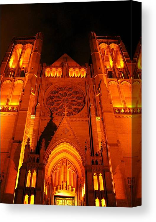 Architecture Canvas Print featuring the photograph Gothic Glory by C Thomas Cooney