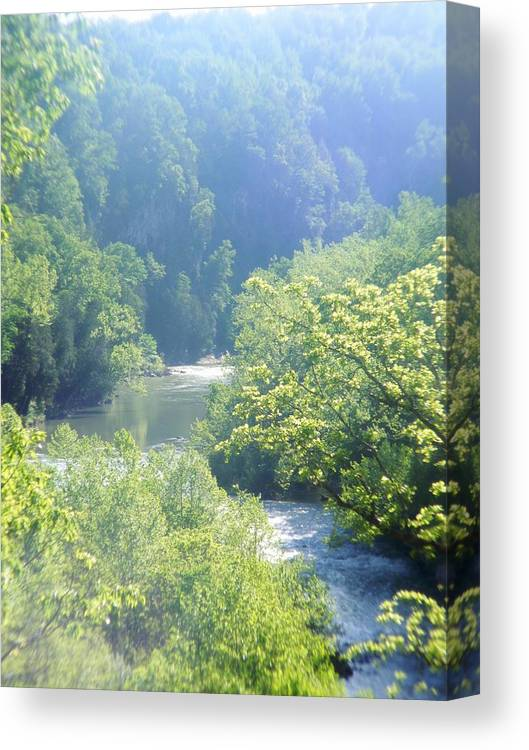 Rockbridge Canvas Print featuring the photograph Maury River by Eddie Armstrong