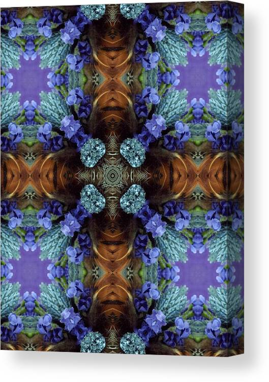 Christmas Canvas Print featuring the photograph Natures Play by Ricky Kendall