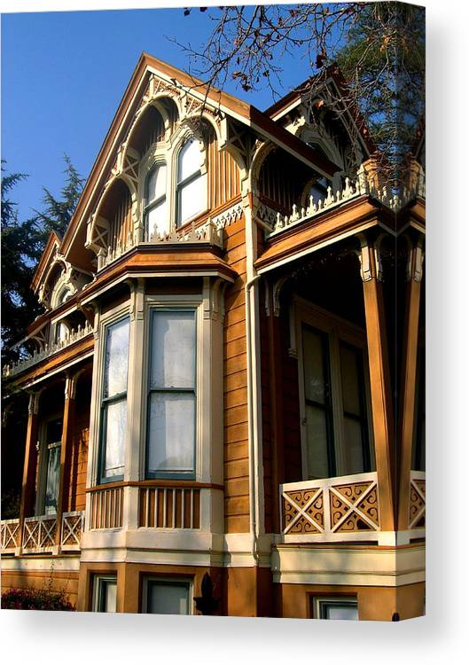 Architecture Canvas Print featuring the photograph No Place Like Home by C Thomas Cooney