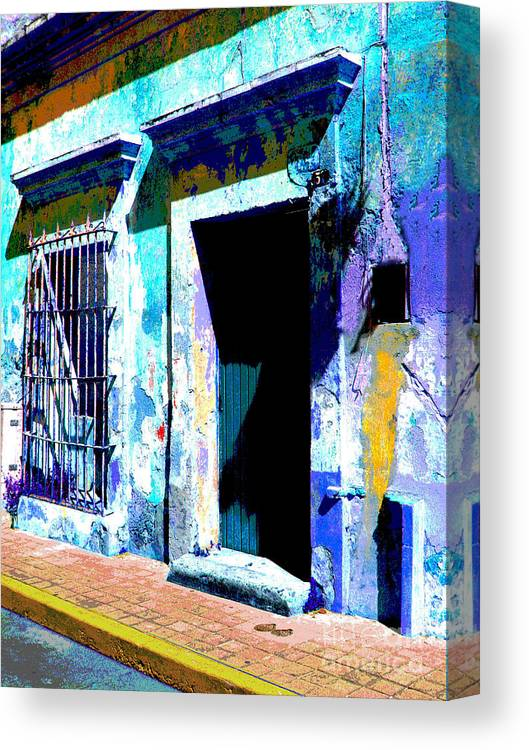 Darian Day Canvas Print featuring the photograph Old Paint By Darian Day by Mexicolors Art Photography
