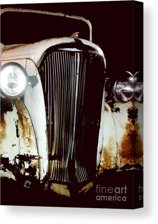 Trucks Canvas Print featuring the photograph Still Truckin by Amanda Barcon