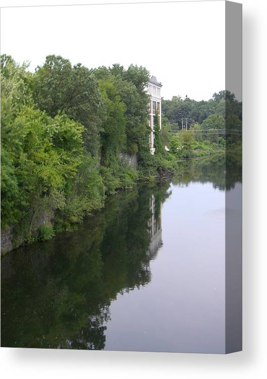 River View Canvas Print featuring the photograph View From Chimera by Nancy Ferrier