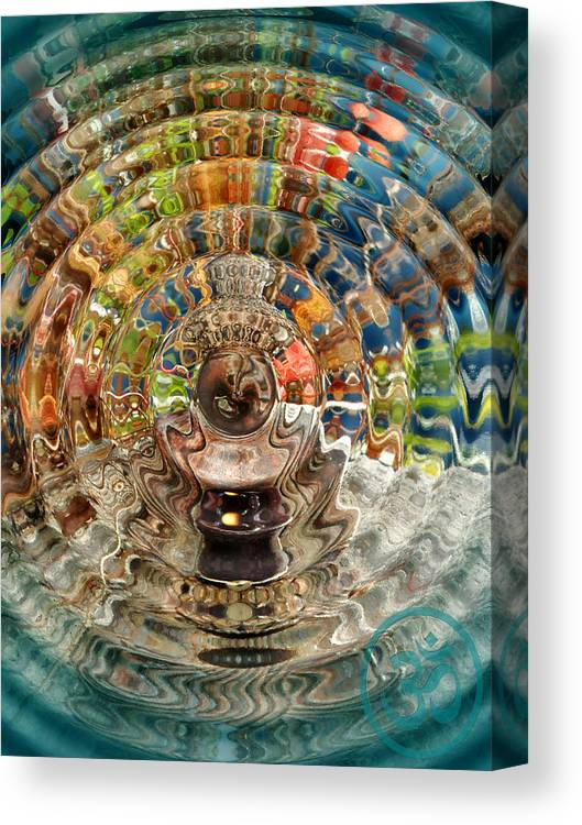 Trippy Canvas Print featuring the photograph Zenergy by Cindy Greenstein