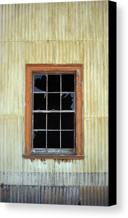 Broken Window Patagonia Chile Canvas Print featuring the photograph Kitchen Window by Marcus Best