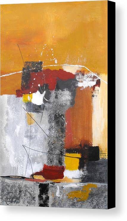 Abstract Canvas Print featuring the painting Special Circumstances by Ruth Palmer