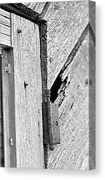 Ansel Adams Canvas Print featuring the photograph Hinge by Curtis J Neeley Jr