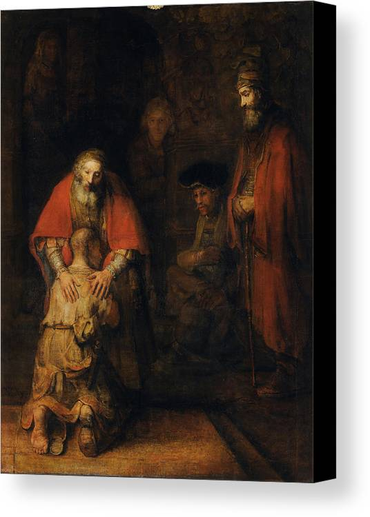 Return Of The Prodigal Son Canvas Print / Canvas Art by ...