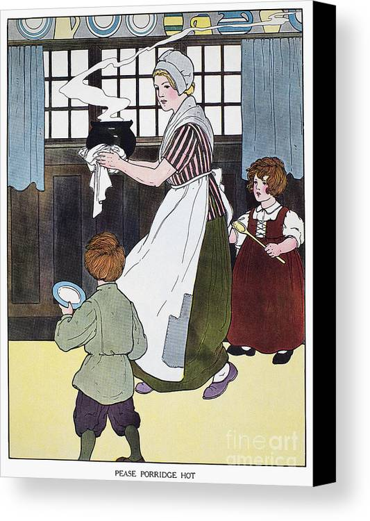 1916 Canvas Print featuring the photograph Mother Goose, 1916 by Granger