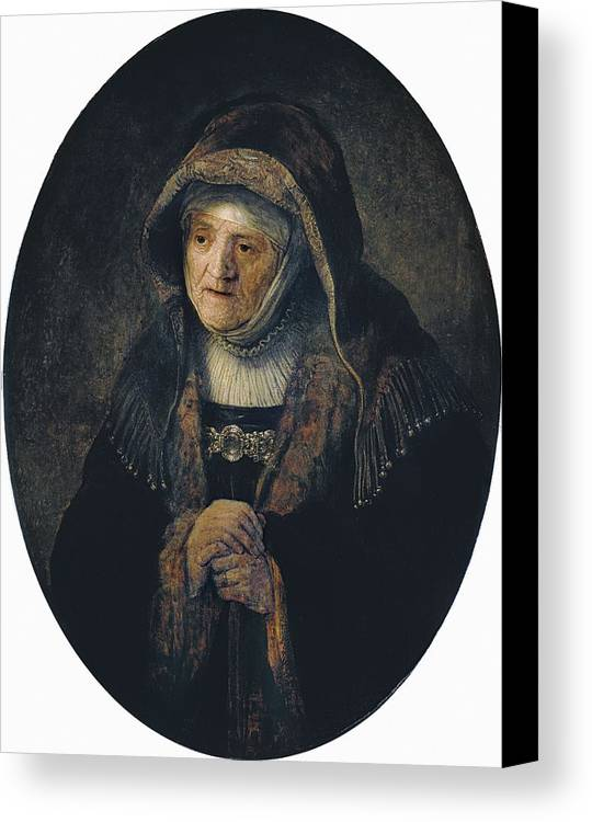 Vertical Canvas Print featuring the photograph Rembrandt, Harmenszoon Van Rijn, Called by Everett