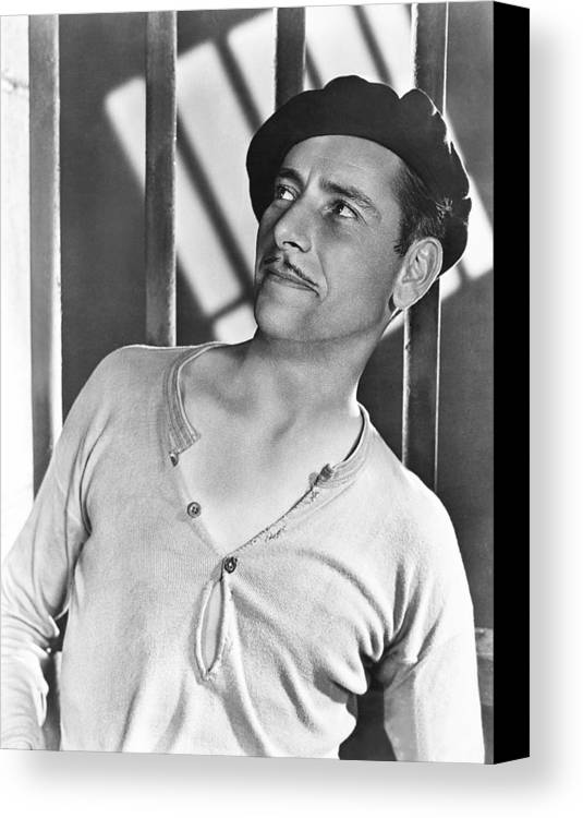 1920s Movies Canvas Print featuring the photograph Condemned, Ronald Colman, 1929 by Everett