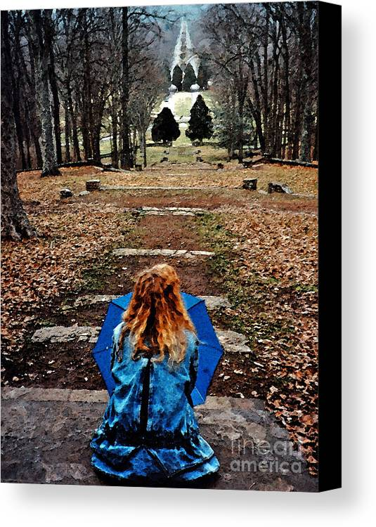 Park Canvas Print featuring the photograph Find Me by Lydia Holly