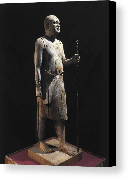 Vertical Canvas Print featuring the photograph Ka-aper Lcalled Sheikh El-beled. Ca by Everett