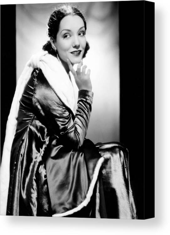 1930s Fashion Canvas Print featuring the photograph Lupe Velez, 1931 by Everett