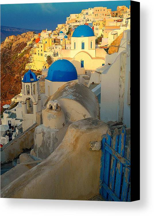 Sunrise Canvas Print featuring the photograph Open The Gate by Jim Southwell