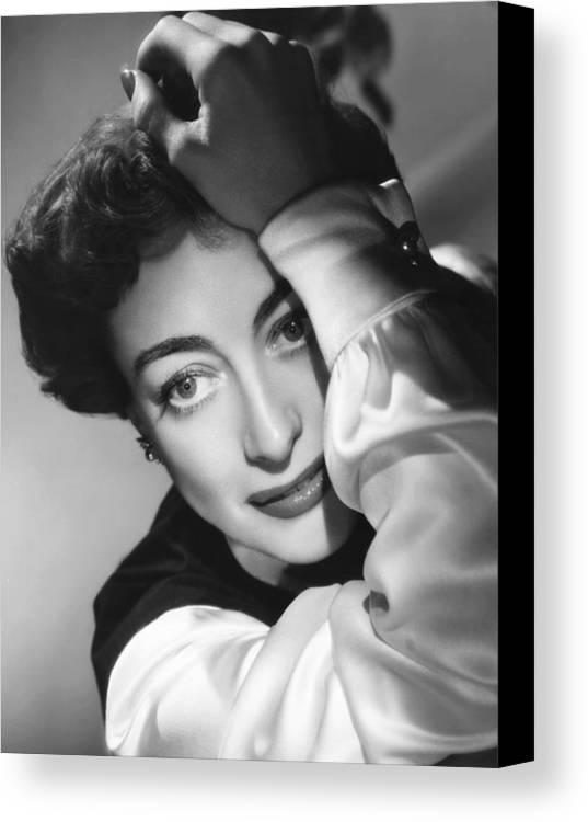 1950 Movies Canvas Print featuring the photograph The Damned Dont Cry, Joan Crawford, 1950 by Everett