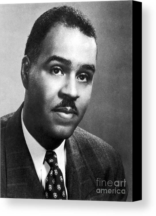 20th Century Canvas Print featuring the photograph Roy Wilkins (1901-1981) by Granger