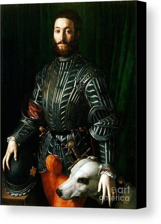Pd Canvas Print featuring the painting Guidubaldo II Della Rovere by Pg Reproductions