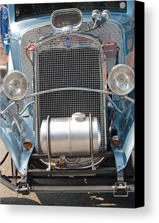 Hot Rods Canvas Print featuring the photograph Hot Rod by Armand Hebert