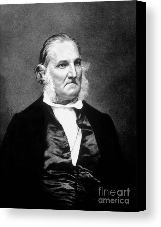 History Canvas Print featuring the photograph John James Audubon, French-american by Science Source