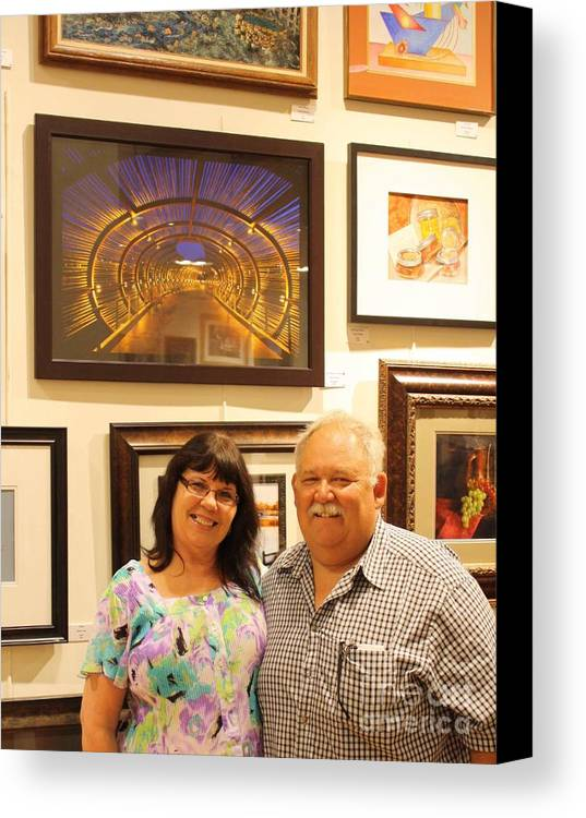 Canvas Print featuring the photograph On Display by Tommy Anderson