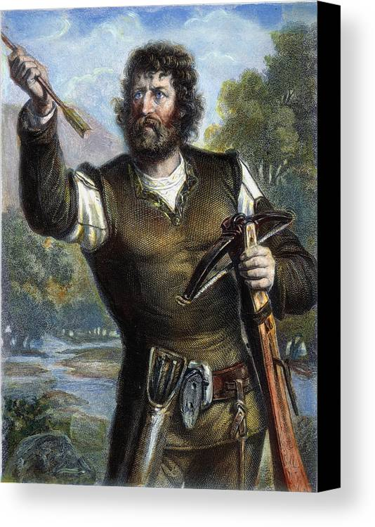Arrow Canvas Print featuring the photograph William Tell by Granger