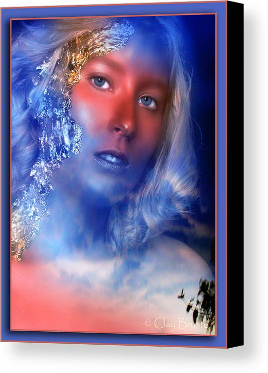Clay Canvas Print featuring the photograph Beauty In The Clouds by Clayton Bruster