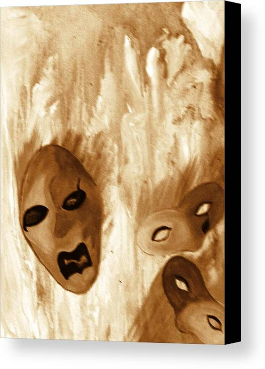 Abstract Canvas Print featuring the print Don't Follow The Leader by Beverly Baxter