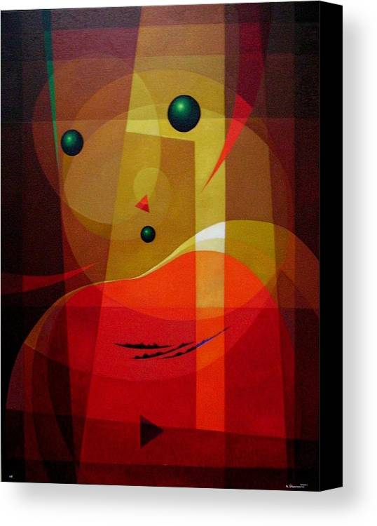 #abstract Canvas Print featuring the painting Doors Of Perception by Alberto DAssumpcao