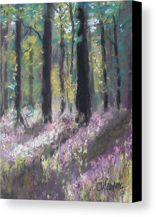 Impressionist Canvas Print featuring the painting Gentle Wakening by Cathy Weaver