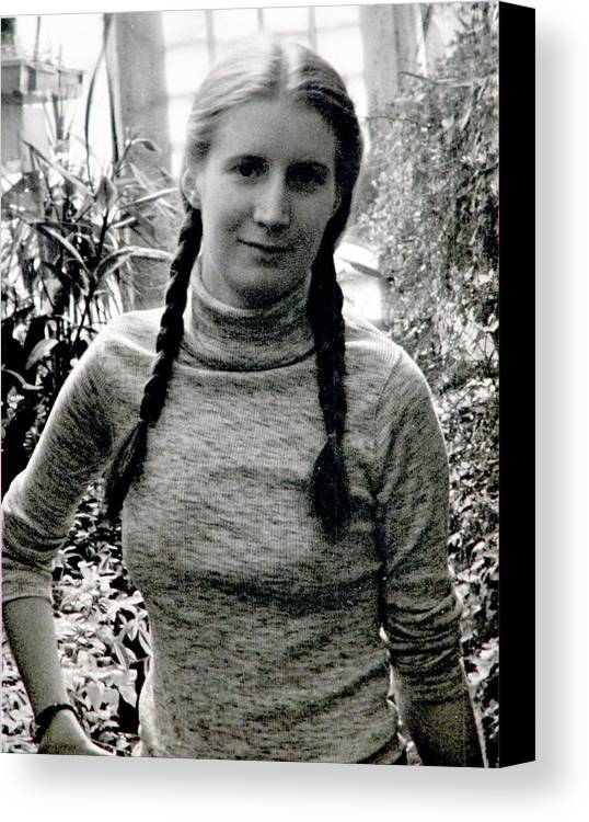 Braids Canvas Print featuring the photograph I Love German Women by John Toxey
