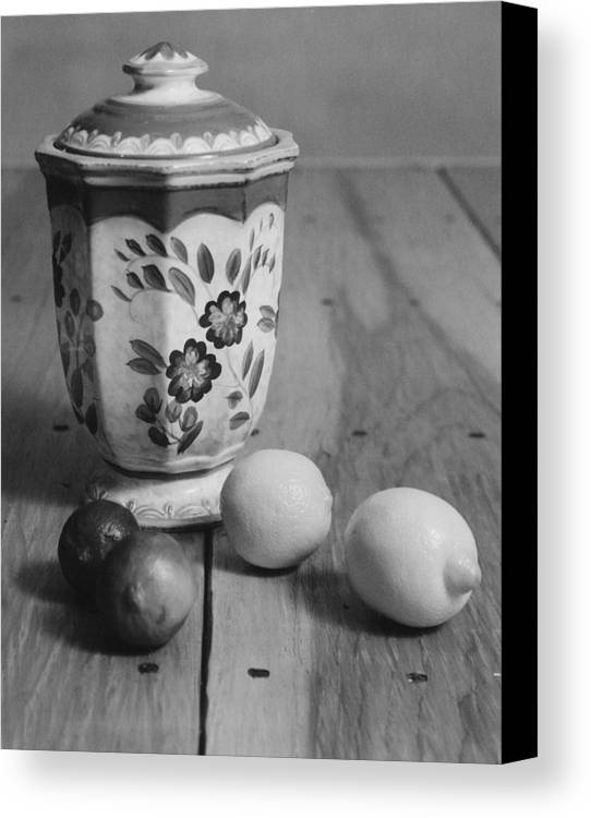Cooking Canvas Print featuring the photograph Lemons And Limes by Henry Krauzyk
