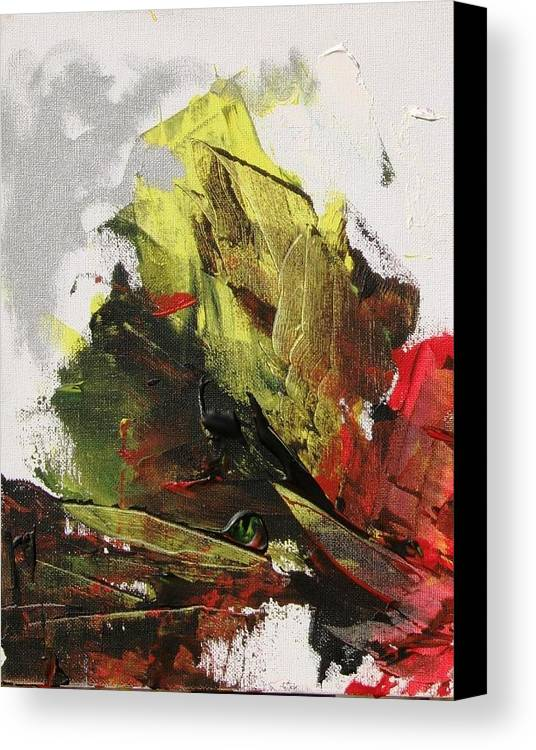 Sails Canvas Print featuring the painting Shipwreck by Bruce Combs - REACH BEYOND