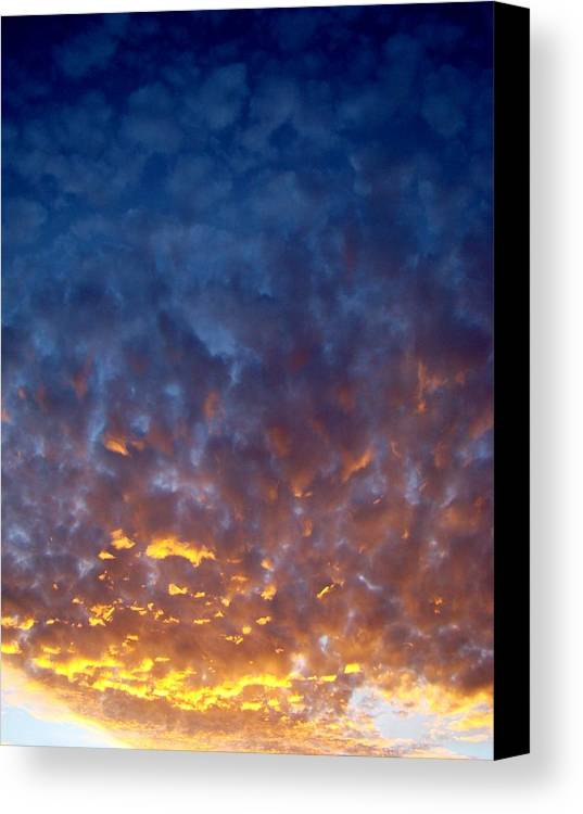 Clouds Canvas Print featuring the photograph Supernatural Cloud Two by Ana Villaronga