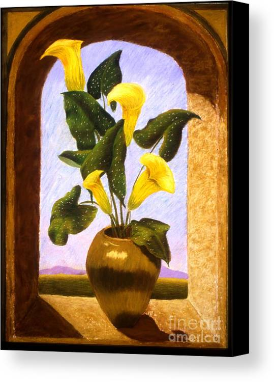Still Life Canvas Print featuring the painting Tribute To The Dutch Masters by Mary Erbert