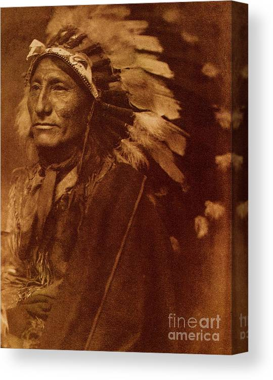 U.s.pd Canvas Print featuring the photograph Chief Whirling Horse by Roberto Prusso