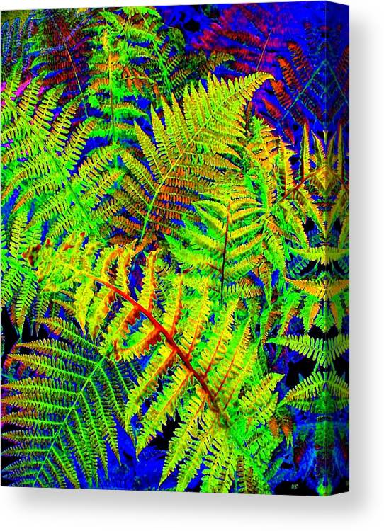 Bella Flora Canvas Print featuring the digital art Bella Flora by Will Borden