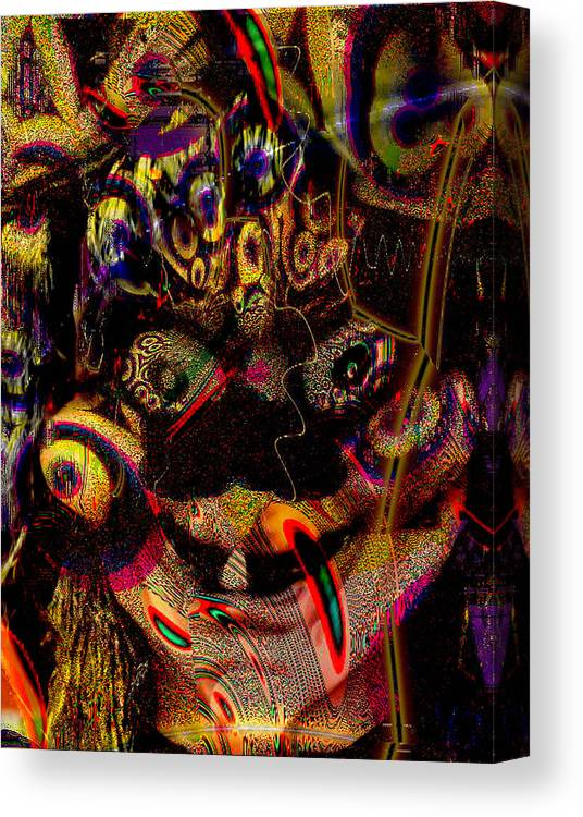 Witch Canvas Print featuring the photograph Joy by Johnny Aguirre