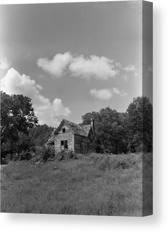 Canvas Print featuring the photograph Old Housw by Curtis J Neeley Jr