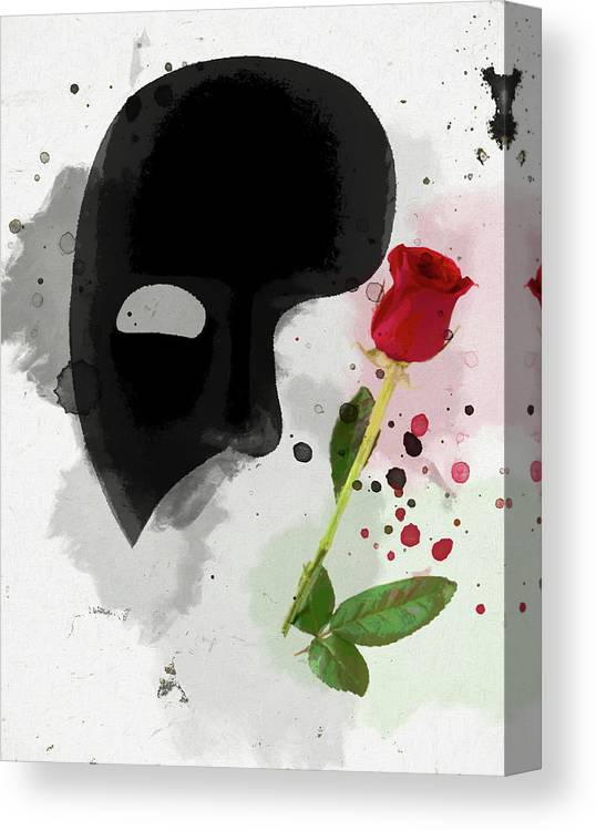 The Phantom Of The Opera Canvas Print Canvas Art By Dan