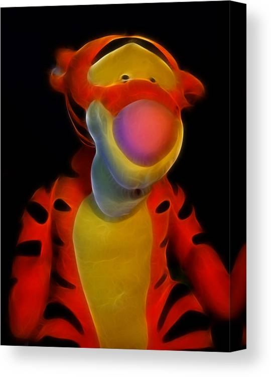 Tigger Winnie The Pooh Canvas Print