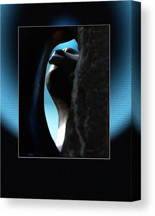 African Art Canvas Print featuring the photograph Stoneview by Richard Gordon