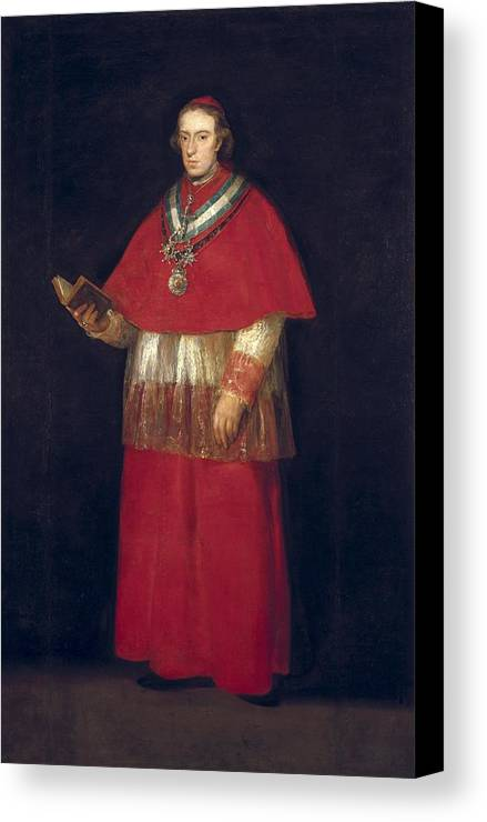Vertical Canvas Print featuring the photograph Goya Y Lucientes, Francisco De by Everett