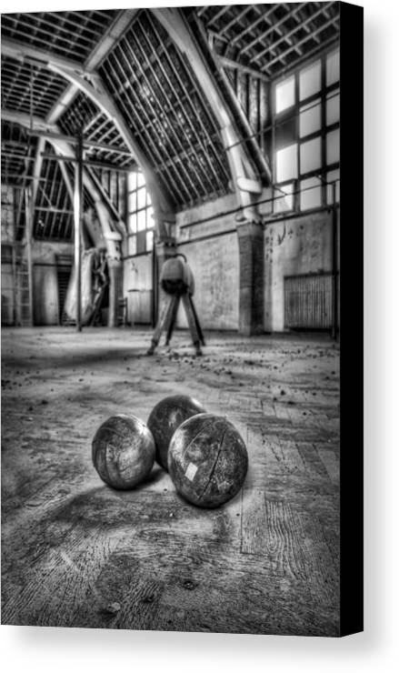Gymnasium Canvas Print featuring the photograph The Gym by Jason Green