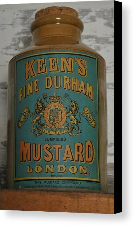 Mustard Canvas Print featuring the photograph Keen's Mustard by Daryl Macintyre