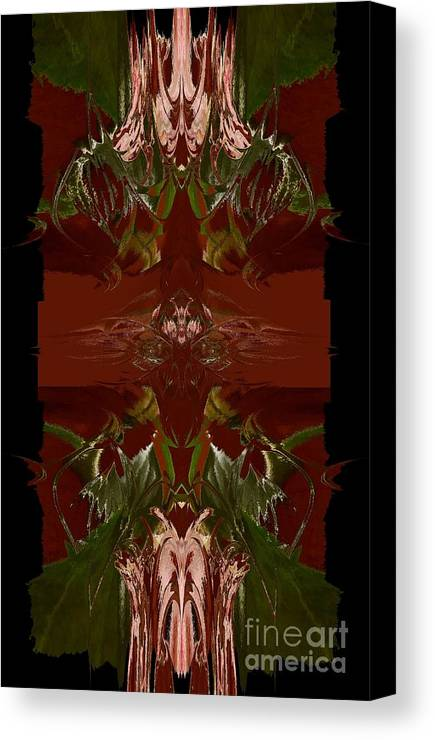 Asian Canvas Print featuring the photograph Asian Spice Three by Beverly Shelby