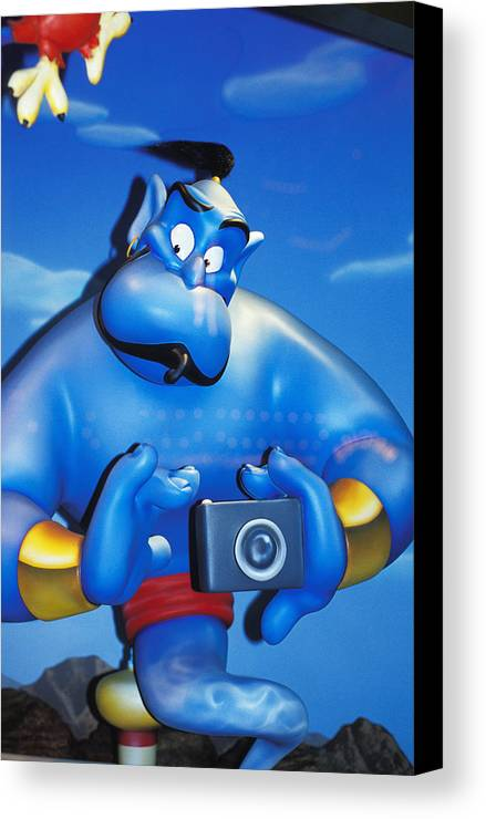 Magic Canvas Print featuring the photograph Candid Camera by Carl Purcell