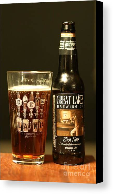 Beer Canvas Print featuring the photograph Great Lakes Brewery by Douglas Sacha