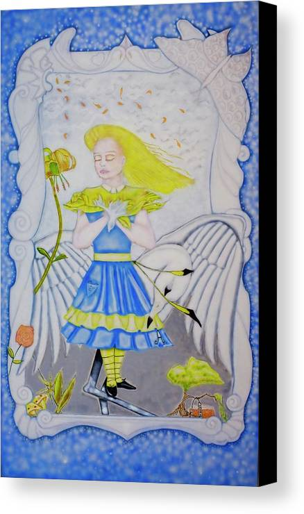Allegory Canvas Print featuring the photograph Looking Glass by Matthew Ronald Watkins